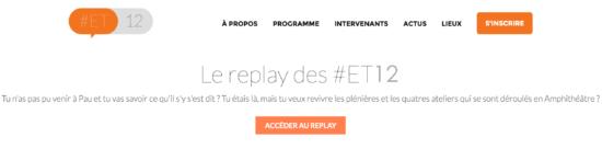 Replay ET12