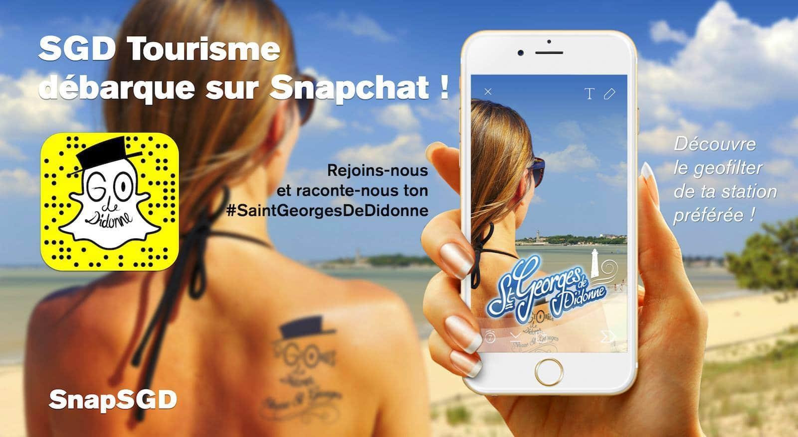 Anima Conseil Saint Georges De Didonne l'expérience snapchat de l'office de tourisme de saint