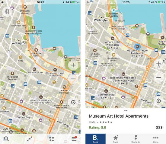 Maps.me Wellington
