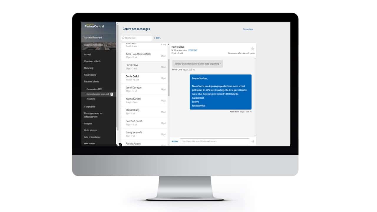 EPC conversations desktop