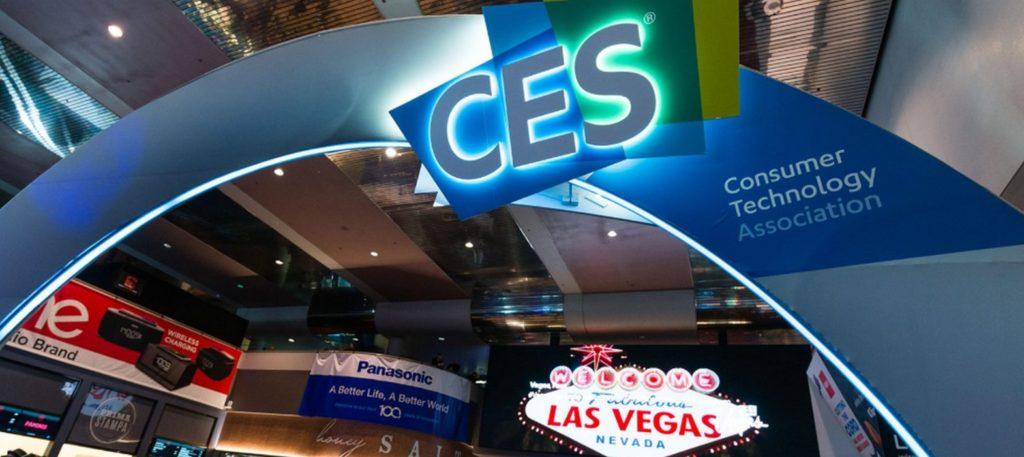 Hall entree du CES de Las Vegas 2020 : le plus grand salon des innovations technologiques du monde