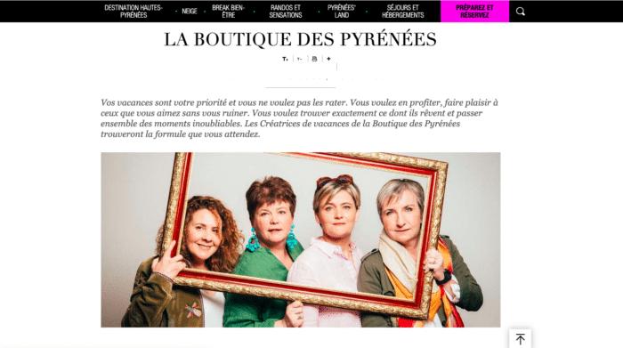 La boutique des Pyrénées, une solution de séjour touristique innovante lancée par le département des Hautes Pyrénées pour faire face à Booking et Airbnb