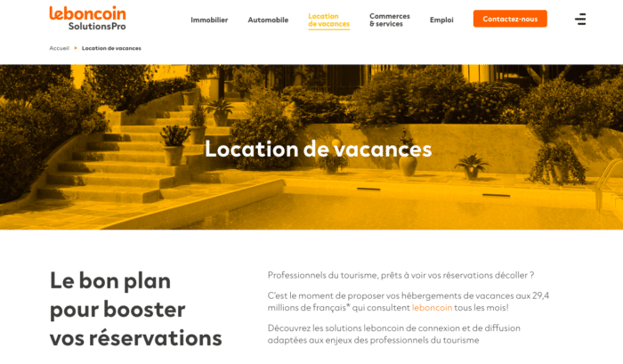 Leboncoin solutions pro, solution à coût réduit pour les hébergeurs français