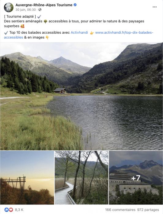[ Tourisme adapté ] ✔️  Des sentiers aménagés 🌳 accessibles à tous, pour admirer la nature & des paysages superbes 🥰  ✔️ Top 10 des balades accessibles avec Activhandi  👉 www.activhandi.fr/top-dix-balades-accessibles & en images 👇