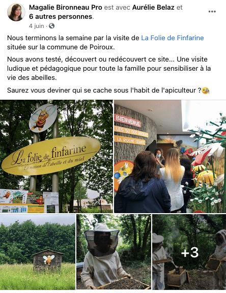 L'OT de Destination Vendée Grand Littoral en visite chez un de leur prestataire